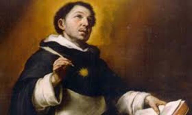 Nacimiento de santo Tomás de Aquino