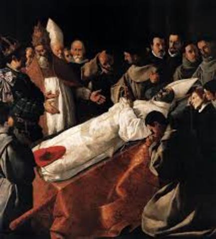 Muerte de San Buenaventura