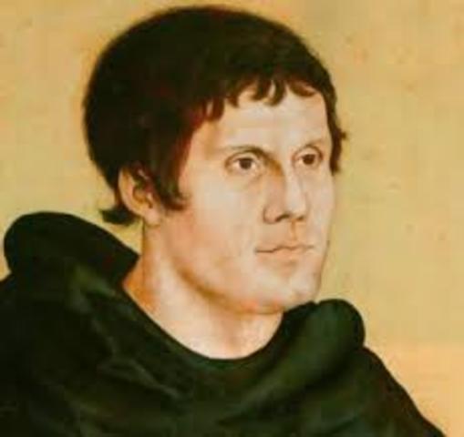Nacimiento de Lutero