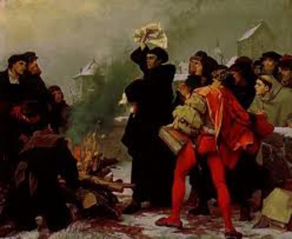 Ex comunion de Lutero