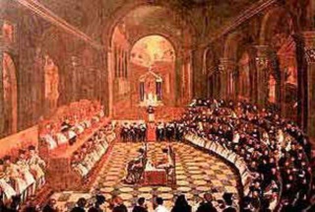 Fin del Concilio de Trento