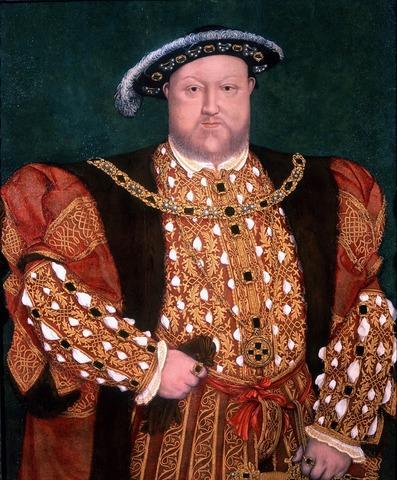 Enrique VIII se proclama jefe de la Iglesia Anglicana