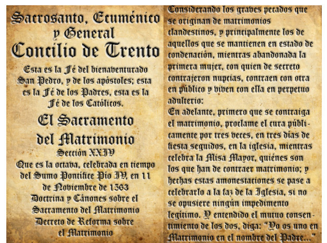Tercera fase del Concilio de Trento