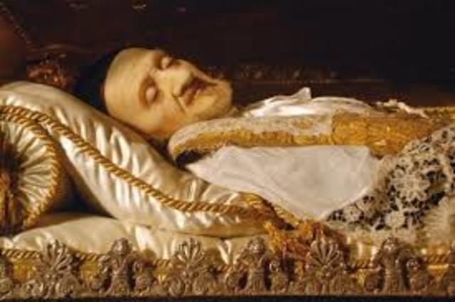 Muerte de San vicente de paul