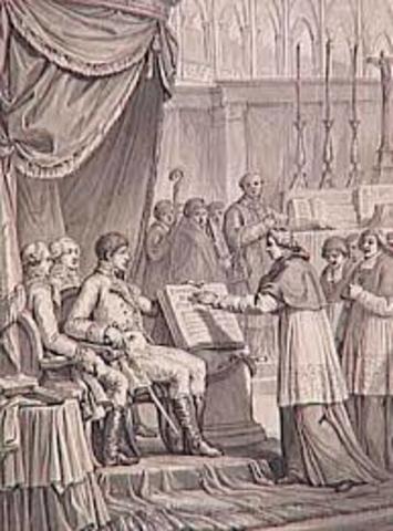Concordato entre Francia y la Santa Sede