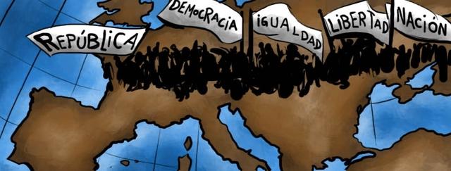 Tercera oleada de revoluciones liberales en Europa / Publicación del manifiesto comunista de Marx y Engels