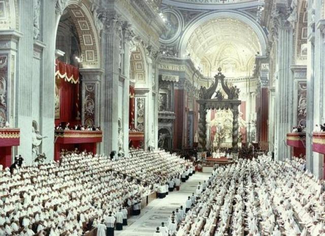 Inicio del Concilio Vaticano I