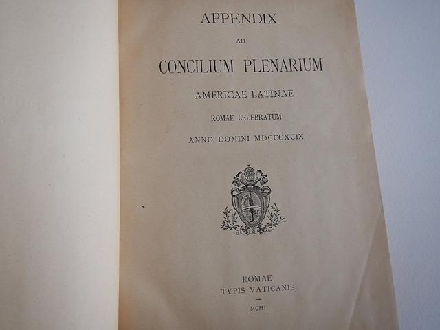 Primer Concilio Plenario de la Iglesia Latinoamiericana en Roma