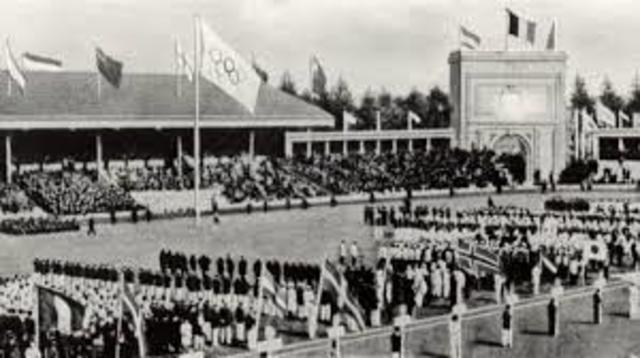 1920 Summer Olympics in Antwerp
