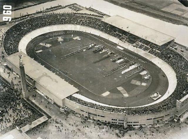 1928 Summer Olympics in Amsterdam