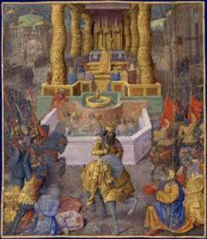Rey saul funda Jerusalen