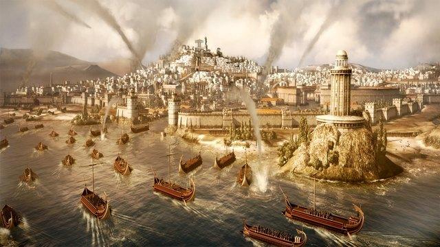 Caída del imperio romano en el siglo V d.C