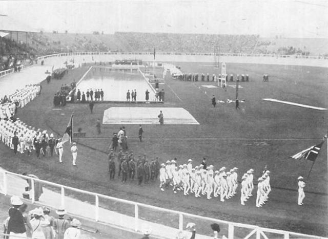 1908 Olympics hosted by London,England