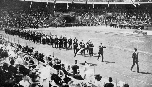 1912 Olympics hosted by Stockholm,Sweden-