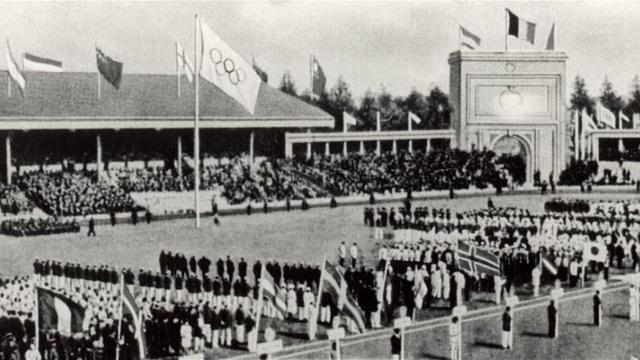 1920 Olympics hosted by Antwerp,Belgium
