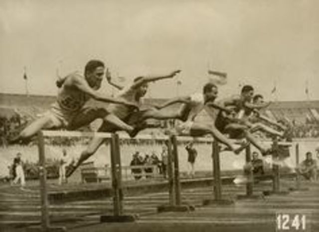 1928 Olympics hosted by Amsterdam,Netherlands