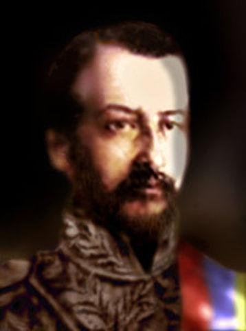 Nuevo Presidente José Hilario López
