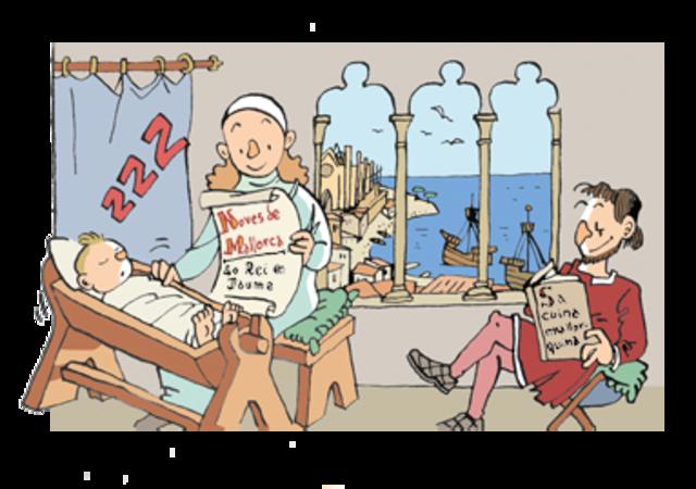 Naixement de Ramon Llull i Erill