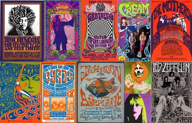 Anys 60's - Rock Psicodèlic