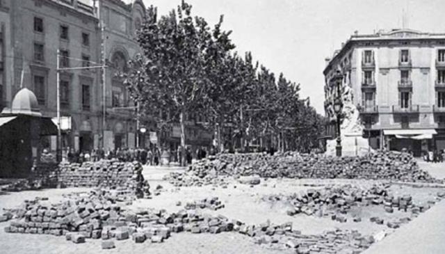 Enfrontament a Barcelona