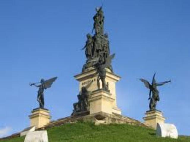 Bolívar regresa a Bogotá.