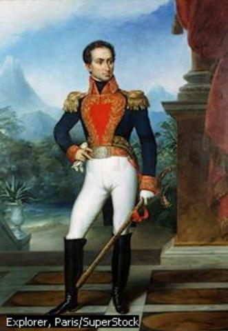 Bolívar es proclamado dictador.