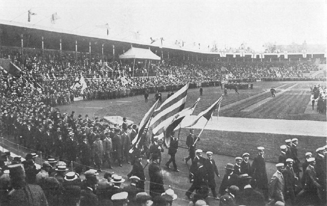 1912 Summer Olympics in Stockholm
