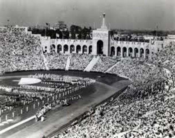 1932 Summer Olympics in Los Angeles
