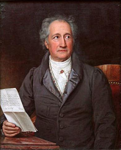 Goethe y el comienzo del Romanticismo.