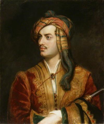 La lírica inglesa, Lord Byron y Shelley.