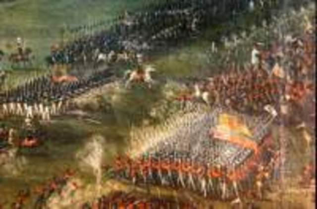 Batalla de Tarqui, victoria de las tropas colombianas al mando de Antonio José de Sucre.