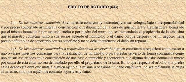 Edictos del Rotary