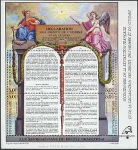 Declaración de los Derechos del Hombre y del Ciudadano Francia