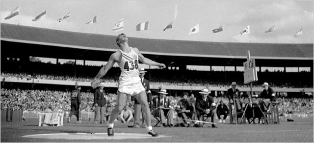 1956 Olympics hosted by Melbourne,Australia