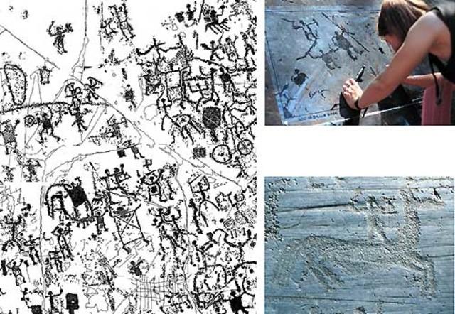 """חריטות חלקות אדמה מעובדות (המאה ה-4 לפנה""""ס)"""