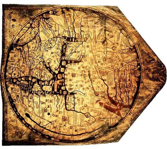 מפה מונדי מימי הביניים