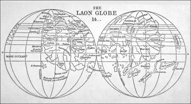 המפות הראשונות עם קווי אורך ורוחב
