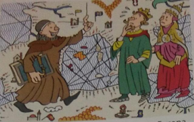 Viatges a Europa per difondre la religió cristiana