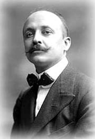 Filippo Tommaso Marinetti Futurista