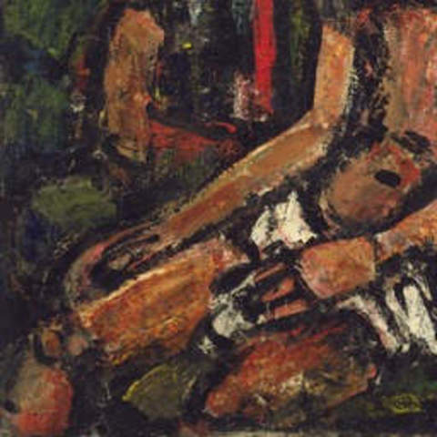 Obra de Georges Rouault Christ Mocked by Soldiers
