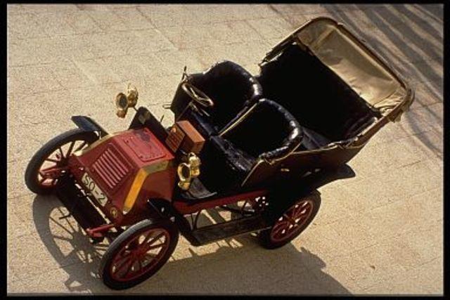 Carricoche amb motor Daimler