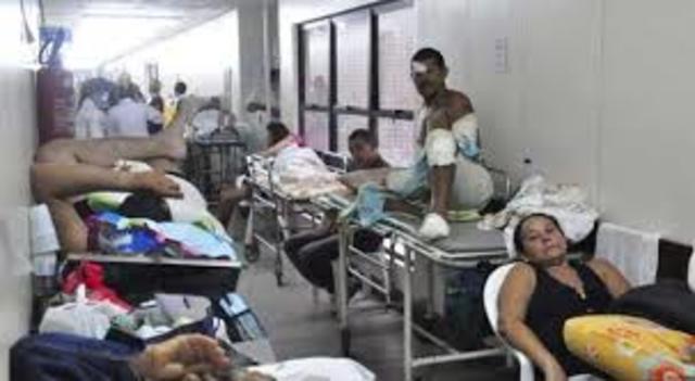 Año de la crisis hospitalaria.