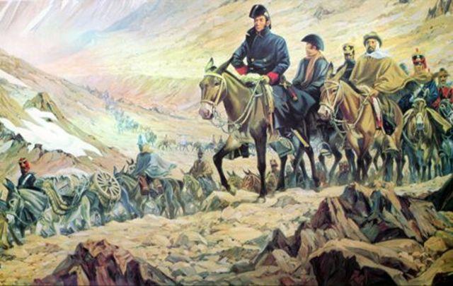 Simón Bolívar tomó Santa Fe a nombre de los federalistus del Tunja y derrotó a los centralistas de Cundinamarca.