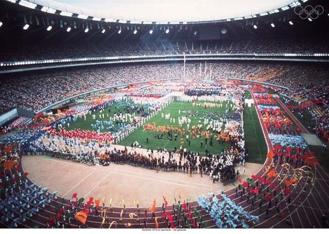 1976 Olympics hosted by Montreal,Canada