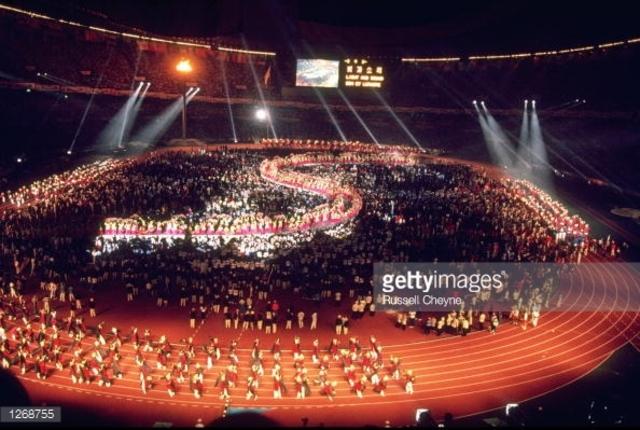1988 Olympics hosted by Seoul,South Korea