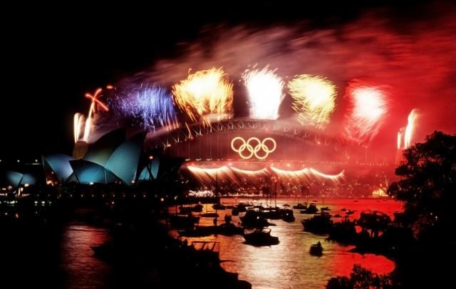 2000 Olympics hosted by Sydney,Australia
