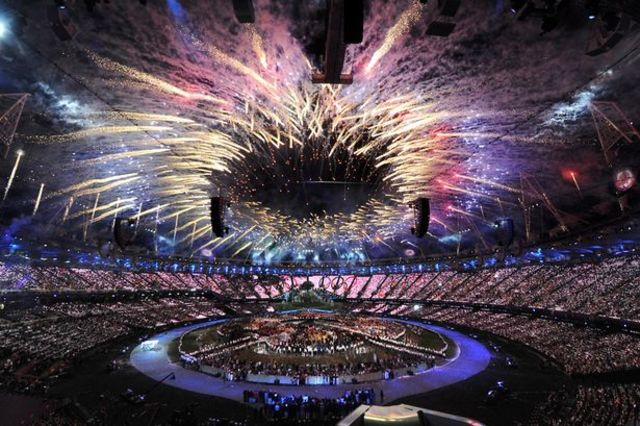 2012 Olympics hosted by London,United Kingdom