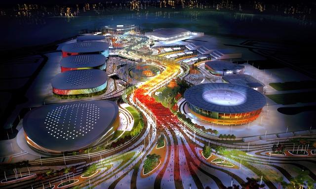 2016 Olympics hosted by Rio de Janeiro, Brazil