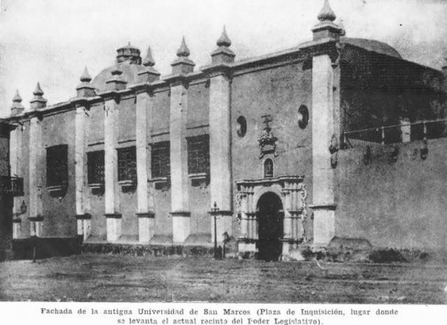Real y Pontificia Universidad de San Marcos en Lima
