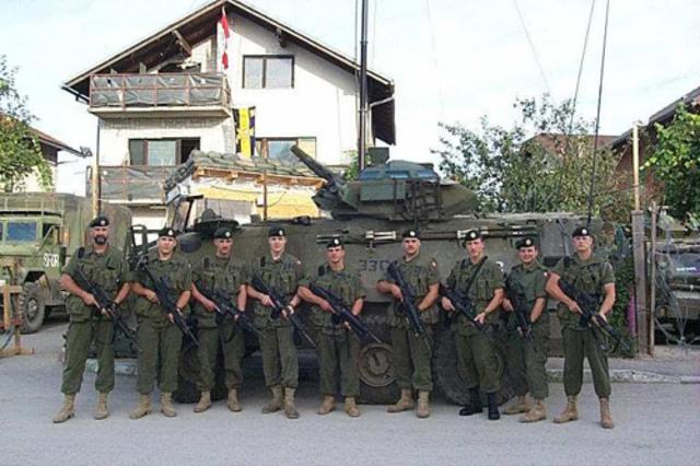 Peace Keeping in Bosnia